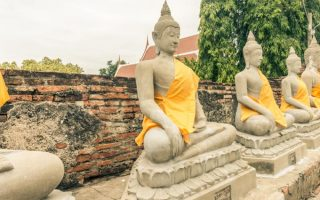 backpack route thailand ayutthaya