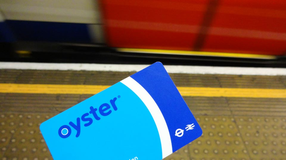 hoe duur is londen oyster card