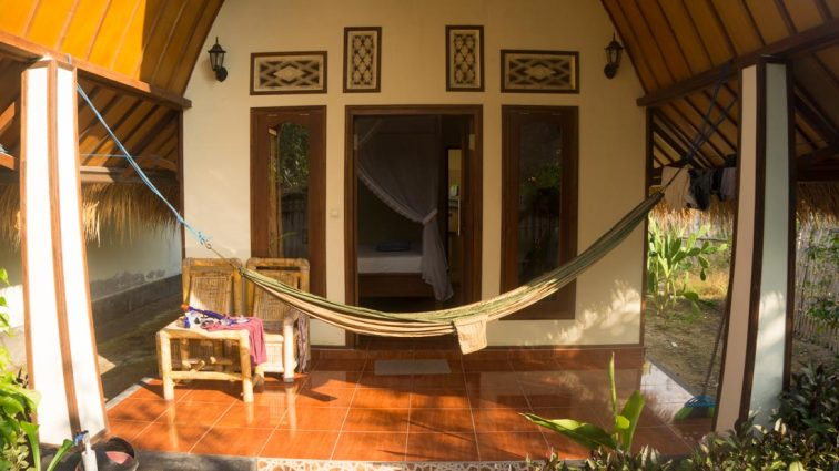 Lia Homestay Gili Air Indonesië