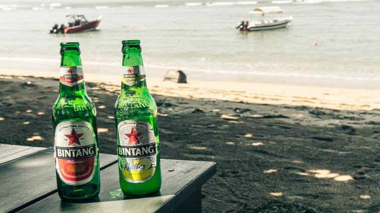 kosten backpacken in indonesie alcohol