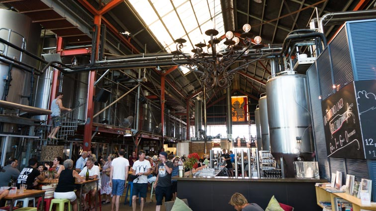 Little Creatures brouwerij in Fremantle