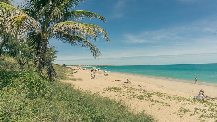 cable beach broome, west australië