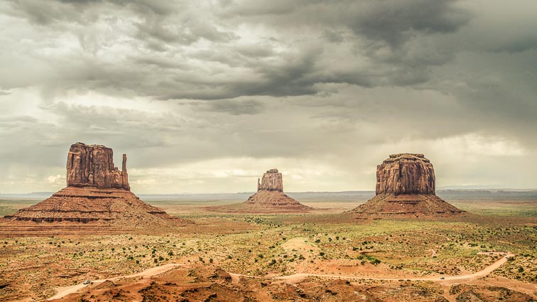 nationale parken amerika monument valley