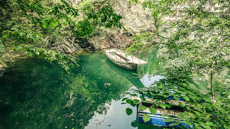 Matka Canyon Macedonië