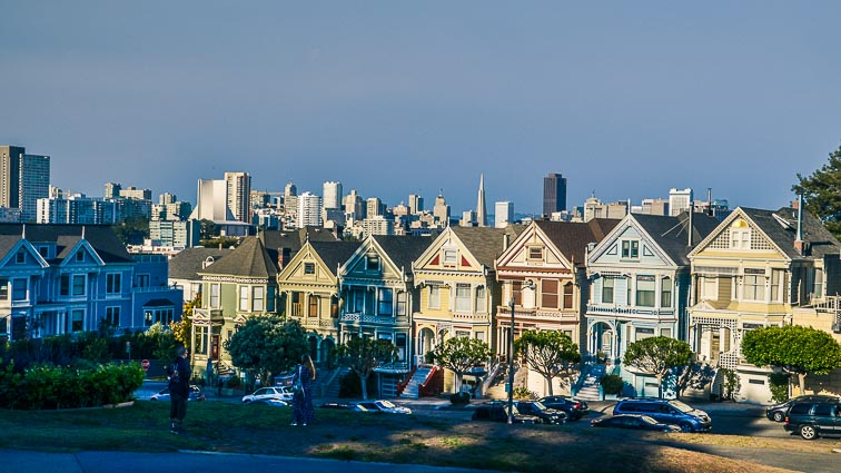 Painted Ladies, San Francisco bezienswaardigheden