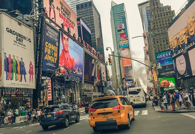 New York Tips Times Square, New York
