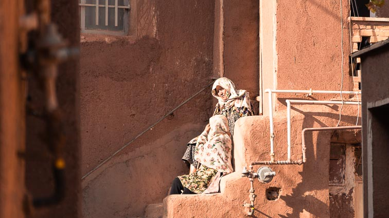 Roadtrip door Iran : Abyaneh