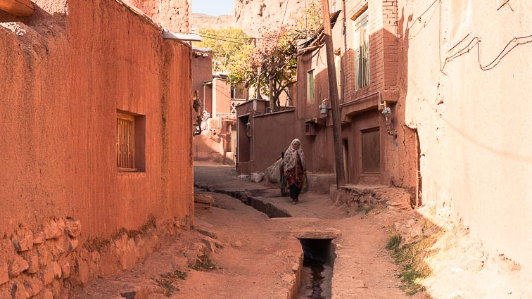 Route Iran: Abyaneh Iran