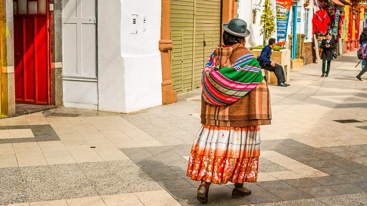 Kosten Backpacken Peru. Locals
