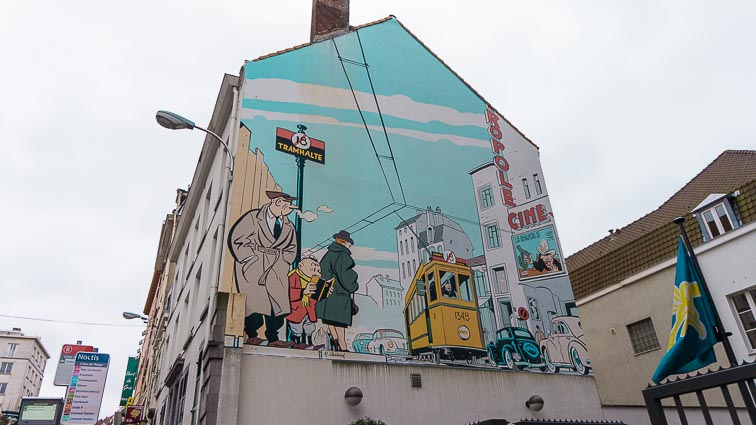 Doen in Brussel: Street art Brussel - Striptour