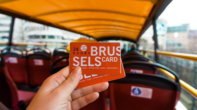 Doen in Brussel: Brussel Card