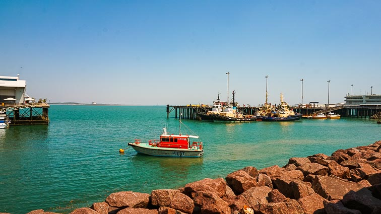 Doen in Darwin: Darwin's Waterfront