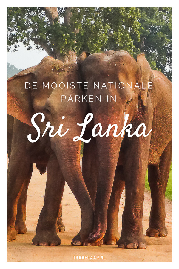 Nationale parken in Sri Lanka