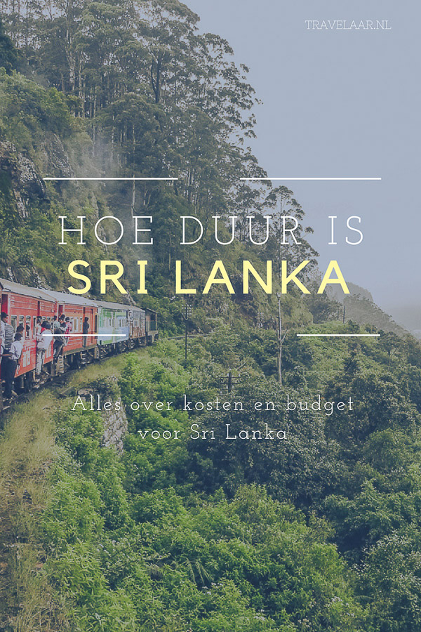 Hoe duur is Sri Lanka