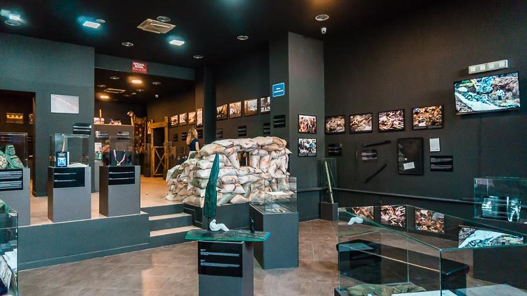 Museum of War and Genocide Victims Moster, Bosnië-Herzegovina