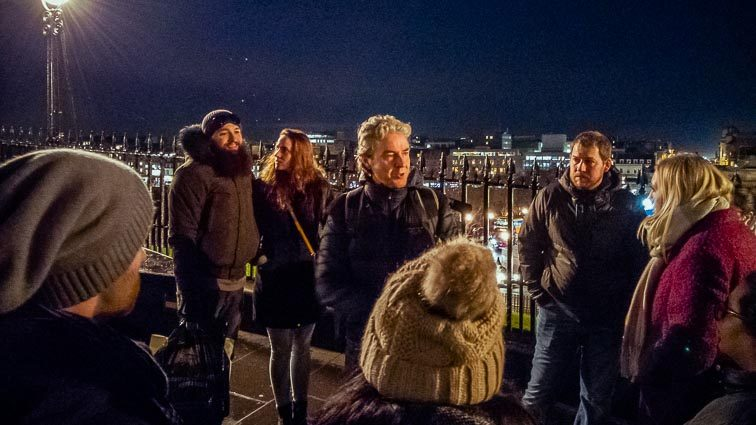 Wat te doen in Edinburgh: Gratis Ghost tour