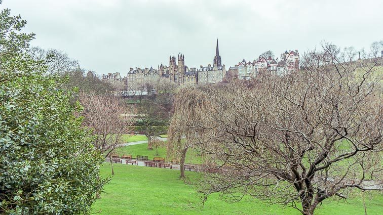 Wat te doen in Edinburgh: Princes Street Garden