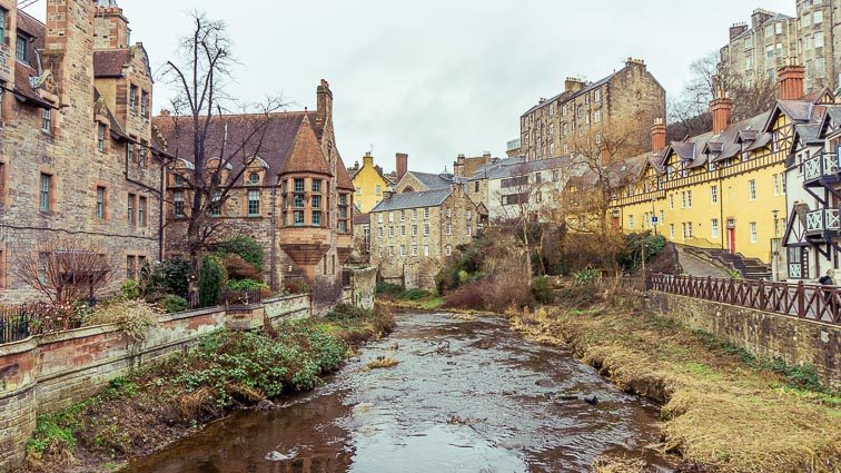 Wat te doen in Edinburgh: Dean Village