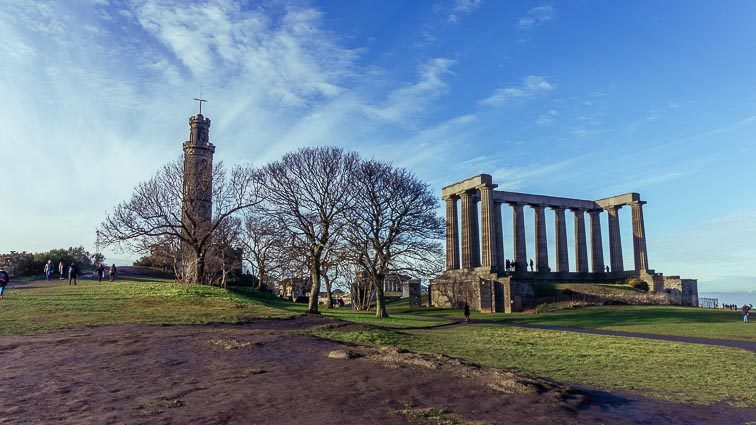 Wat te doen in Edinburgh: Carlton Hill