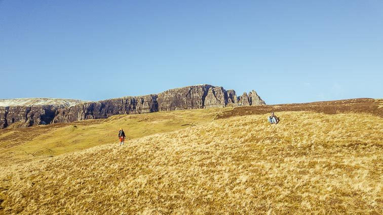 The Quiraing, Isle of Skye Schotland