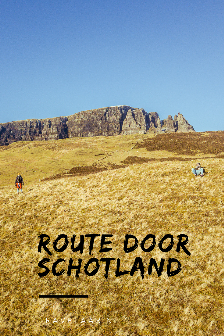 Route door Schotland rondreis