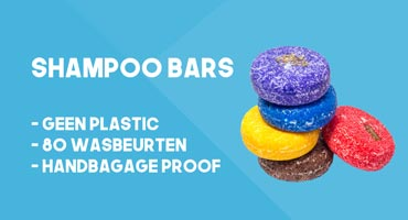 Shampoo Bars in de Travelaar Reisshop