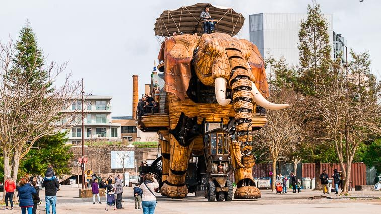The Grand Elephant Nantes