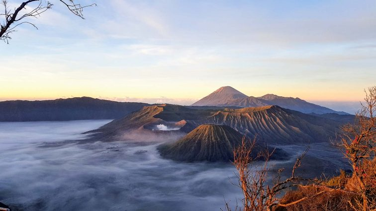 Ijen vulkaan Java Indonesië