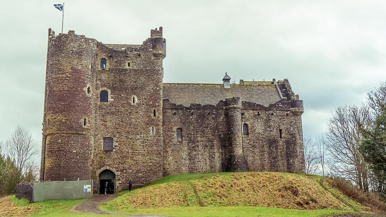Route door Schotland Rondreis: Doune Castle