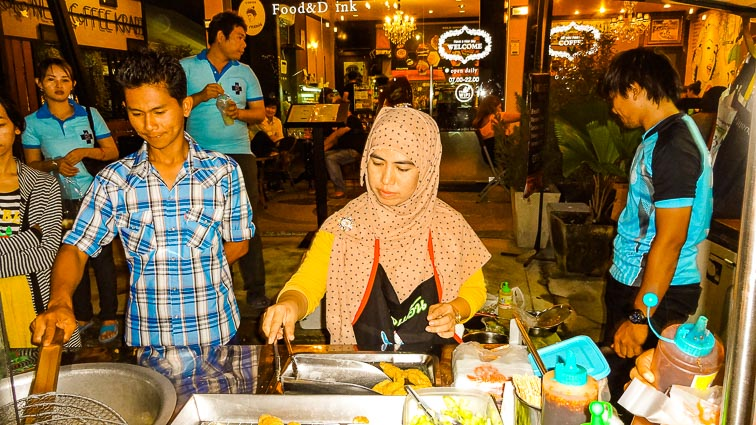 Night Market Krabi